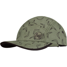 Buff 5 Panels Bonnet Enfant, murogo khaki
